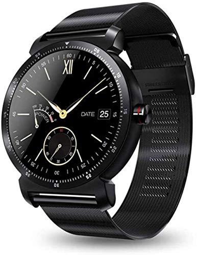 Reloj inteligente con pantalla HD, monitor de frecuencia cardíaca, podómetro, rastreador de fitness, reloj inteligente conectado para Android iPhone Noble-A