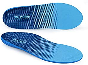 Plantar Fasciitis Feet Insoles Arch Supports Orthotics Inserts Relieve Flat Feet, High Arch, Foot Pain Mens 5-5 1/2 | Womens 7-7 1/2