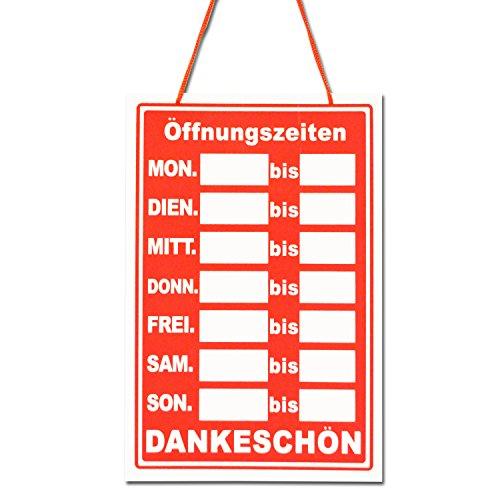 SWIFT Öffnungszeiten German Opening Times Hanging Shop Sign (BS18)