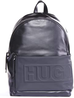 Hugo Boss Men's Hero_Backpack 100% Cow skin Fashion Bags Bags