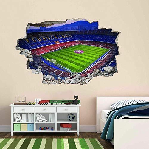 Wandtattoo Barcelona Nou Camp Stadion 40X60 Cm/15.7X23.6 Zoll Selbstklebende Removable Vinyl Decals Wohnzimmer Schlafzimmer Art Dekore.
