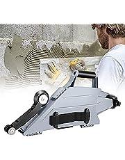 Drywall Banjo Taping Tool, Gipsplaat Joint Tool, Met Omkeerbare Binnenhoek Roller Wiel Gipsplaten Banjo Taper Dual Rechts/Links Bediening voor Kast Hoek Muur Plafond