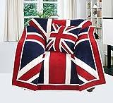 EHC Union Jack, Sofa, Stuhl, Tagesdecke, 125 x 150 cm.