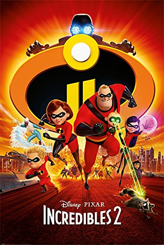 The Incredibles 2 Maxi Poster 61 x 91.5cm