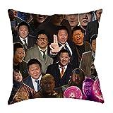 zxnucbvve Be EEQEOTIVPUS Ned ict Wong Photo Collage Pillowcase Fundas para Almohada,Fundas Decorativas para Almohada ZGYKW 45cm x 45cm(18'x18') No Insert