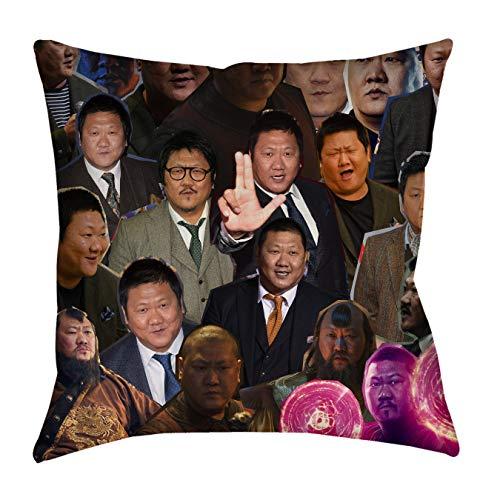 "zxnucbvve Be EEQEOTIVPUS Ned ict Wong Photo Collage Pillowcase Fundas para Almohada,Fundas Decorativas para Almohada ZGYKW 45cm x 45cm(18""x18"") No Insert"