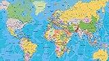 JINZUO Puzzle 1000 Piezas Personalizado 3D Infantiles 8 Años Educa Madera Adultos Arte Paisajes Placeres Decoracion Regalos Para Mujer Mapa Del Mundo