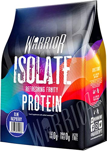 Ultra-Pure Whey Protein Isolate 500g - Refreshing Fruit Protein - High Protein Low Carb | Warrior Supplements