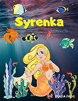 Syrenka kolorowanka: Syrenka Kolorowanka dla dzieci, Unikalna kolorowanka, dla dzieci w wieku 3-6-8 lat