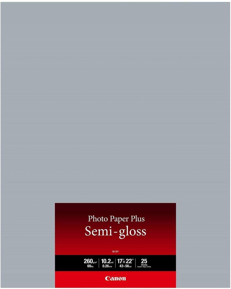 Our shop most popular Canon SG-201 Photo Paper Plus 10.2 Dedication Inkjet 260gsm mil 17