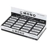 トンボ鉛筆 消しゴム MONO モノブラック PE01 40個 PE-01AB-40P