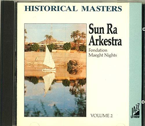 sun ra arkestra: fondation maeght nights volume 1, cd, EEC import,4 tracks, mint