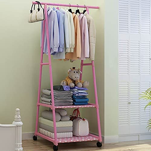 Coat Rack Floor Standing Clothes Storage Hanging Jacksonville Challenge the lowest price of Japan ☆ Mall Shelf H