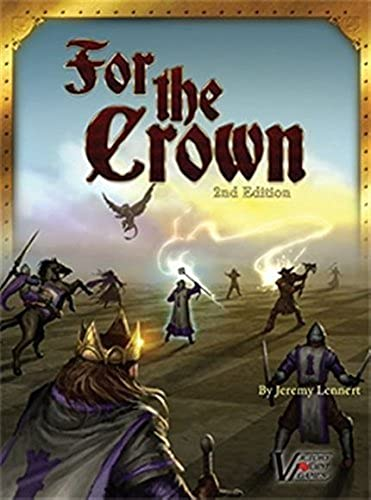 For the Crown Fantasy deckbuilding Boxed Board Game by Victory Punkt Games