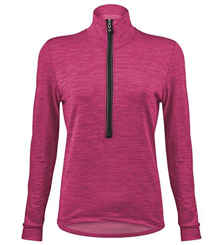 HeatherTech Fleece Women's Cycling Pullover - Made...