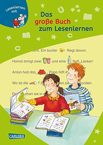 LESEMAUS zum Lesenlernen Sammelbände: Das große Buch zum Lesenlernen: Bild-Wörter-Geschichten – mit Bildern lesen lernen
