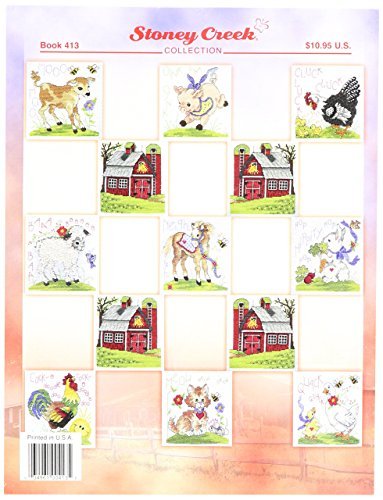 Stoney Creek Baby Collection, Counted Cross Stitch Pattern Book, Farm Babies, Book 413