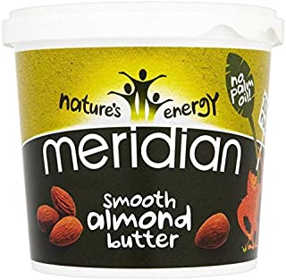 Meridian Smooth Almond Butter 100% Nuts - 1kg