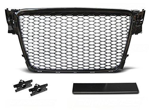 Shop Import - Griglia per Radiatore dell'Auto, Colore: Nero lucido