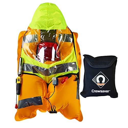 Crewsaver Varen en zeilen - Crewfit Pro 180N reddingsvest sproeikap - Opgeslagen in je reddingsvest