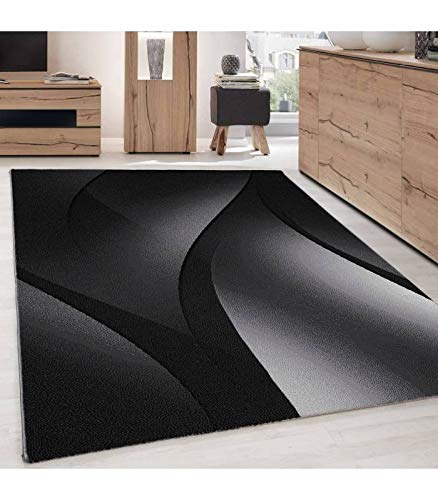 Carpettex Teppich Designer Tapis Moderne, Abstrait, Poils Ras des Vagues De L