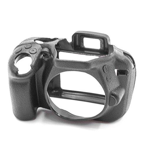 vhbw cámara Cubierta Bolsa Compatible con Nikon D3300, D3400 cámara - Silicona...