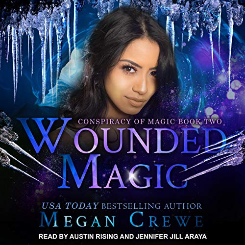 Wounded Magic audiobook cover art