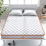 Maxzzz Hybrid Spring Mattress Queen, 6 Inch Bamboo Charcoal Spring Mattress Innerspring Foam