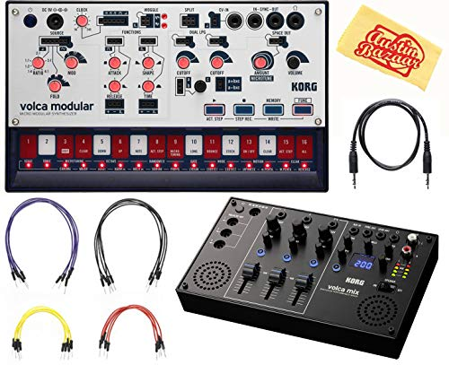 Fantastic Deal! Korg Volca Modular Synthesizer Bundle with Volca Mix and Austin Bazaar Polishing Clo...
