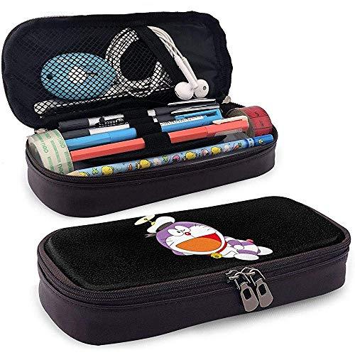 Fashion Doraemon Purple Sailor Leather-case for Unisex One Size Black 20 * 9 * 4cm