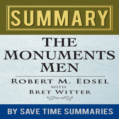 Summary, Review, & Analysis: The Monuments Men by Robert M. Edsel audiobook cover art