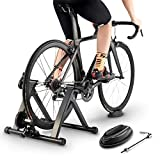 ROCK BROS Bike Trainer Stand for Indoor Riding Exercise Bicycle Training Stand Magnetic Foldable...