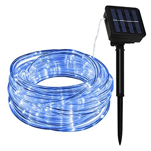 Lamker 10M 100 LED Manguera Guirnaldas Luces Solar Exterior