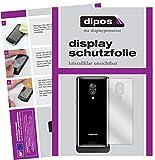 dipos I 6X Schutzfolie klar kompatibel mit Lenovo Z5 Pro GT Rückseite Folie Bildschirmschutzfolie