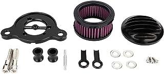 Motorradluftfilter, Motorradzubehör Passend für XL883 XL1200 X48 Modifikation CNC Aluminium Luftfilter