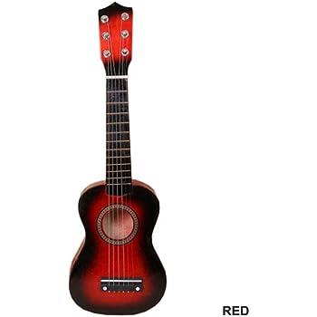 Jiayuane Ukulele Soprano de 21 Pulgadas Mini Guitarra acústica Instrumento Musical de Madera de Tilo para Principiantes, niños, Principiantes, Aficionados, Rojo: Amazon.es: Electrónica