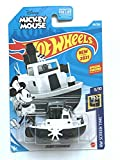 Hotwheels Disneys Mickey Mouse Steamboat, HW Screen Time [Black and White] 193/250