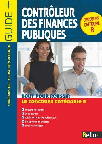 Contrôleur des finances publiques: Catégorie B