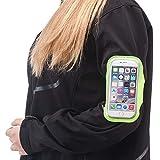 Entucesta Brazalete Deportivo para Running, Correr y Hacer Deporte y Llevar tu móvil en el Brazo. (Móviles de hasta 5.5 Pulgadas)