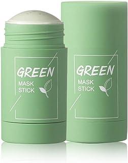 Crema cubriente de arcilla de té verde Crema facial limpiadora profunda Crema facial para puntos negros Hidrata y contr...