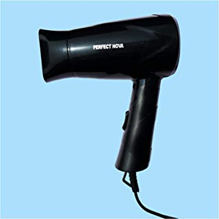 Perfect Nova (Device Of Man) PN 113 Silky Shine 650 W Hot and Cold Foldable Hair Dryer (Black)