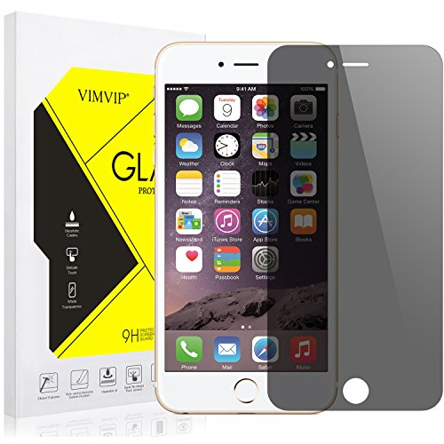 iPhone 7 Plus Privacy Screen Protector,VIMVIP [4 Angle Anti Peek] Anti-Spy Privacy Tempered Glass Screen Protector for iPhone 7 / 7s Plus 5.5 inch (Black)