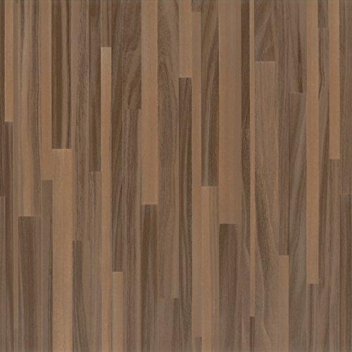 Venilia Klebefolie Perfect Fix Parkett Braun, Holzfolie, Dekofolie, Möbelfolie, Tapeten, selbstklebende Folie, keine Luftblasen, Natur-Holzoptik, 45cm x 2m, Stärke: 0,15 mm, 53333