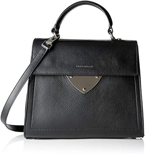 COCCINELLE - B14 E1 C05 18 03 01, Shoppers y bolsos de hombro Mujer, Negro (Noir), 13x22x27 cm (B x H T)