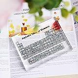 XIANNVV Tabla periódica de elementos, tablero de acrílico, tabla periódica tridimensional de elementos, transparente y resistente al desgaste, vívida e interesante
