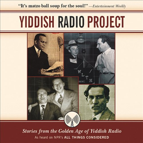 Yiddish Radio Project audiobook cover art