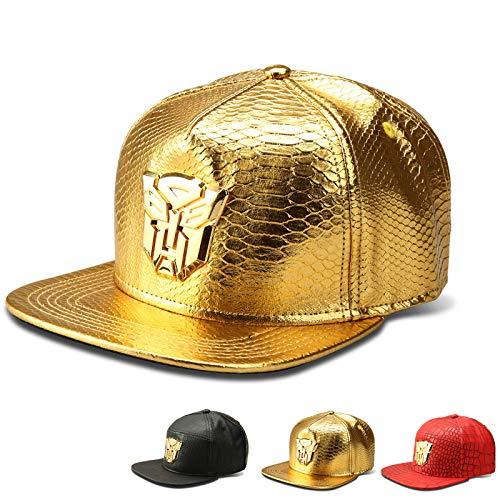 Preisvergleich Produktbild sdssup Krokoprägung Baseball Cap Transformatoren Flut Marke flachen Hut Gold