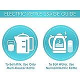 Prestige Electric Kettle PKOSS - 1500watts, Steel (1.5Ltr), Black
