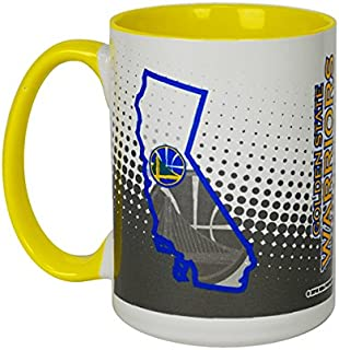 Memory Company NBA Golden State Warriors NBA-GSW-223515 oz Inner Color Mug 256e49da4