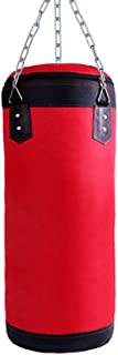 Luniquz Kids Punching Bag, Oxford Boxing Bag for Kids Training, UNFILLED Sandbag with Chain for Boys & Girls